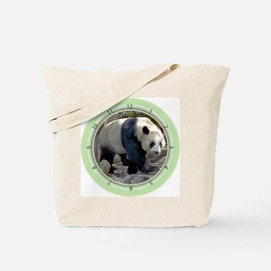 Panda Strut Tote Bag