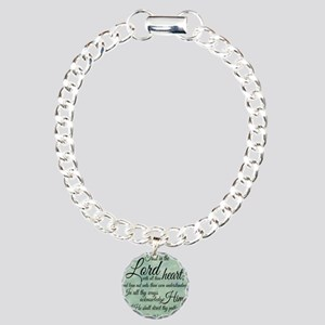 Trust  in the Lord Charm Bracelet, One Charm