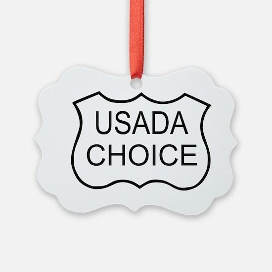USADA CHOICE Ornament