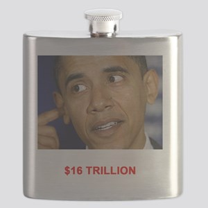 I thought you said 16 TRILLION Dark T-Shirt Flask