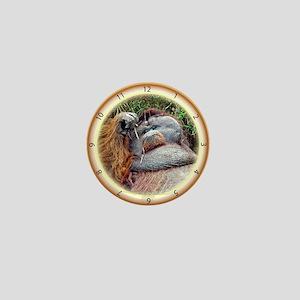 Lazy Orangutan Mini Button