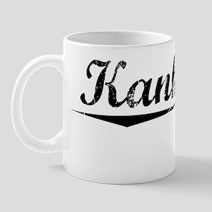 Kankakee, Vintage Mug