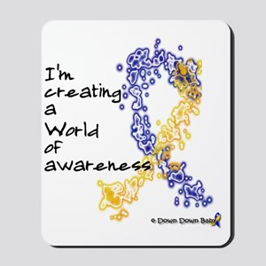 World of Down Syndrome Awareness (new) Mousepad