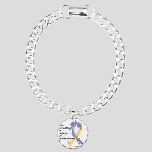 World of Down Syndrome A Charm Bracelet, One Charm