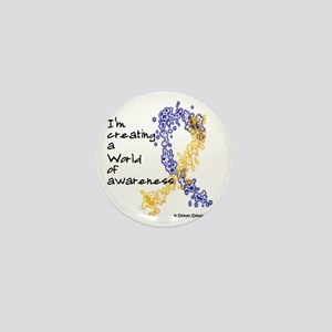 World of Down Syndrome Awareness (new) Mini Button
