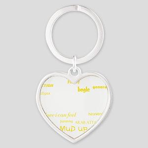 Riddim Classics Heart Keychain