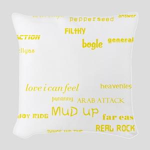 Riddim Classics Woven Throw Pillow
