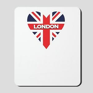 English Heart Mousepad