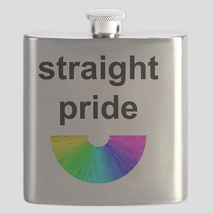 Straight Pride Flask
