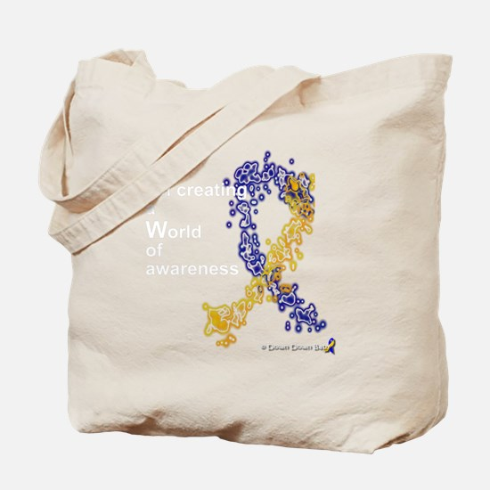 World of Down Syndrome Awareness Tote Bag
