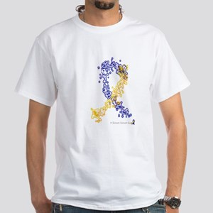 World of Down Syndrome Awareness White T-Shirt