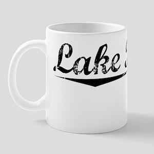 Lake Placid, Vintage Mug