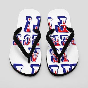 Mitt is a Perfect Fit ! Flip Flops