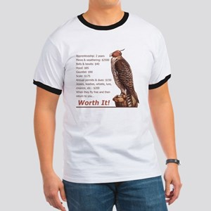 Falconry - Worth It! Ringer T
