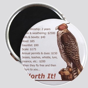Falconry - Worth It! Magnet