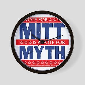Myth Romney Tee Wall Clock