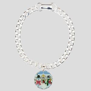 American Snowman Gothic Charm Bracelet One
