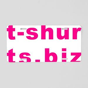 t-shurts.biz Aluminum License Plate