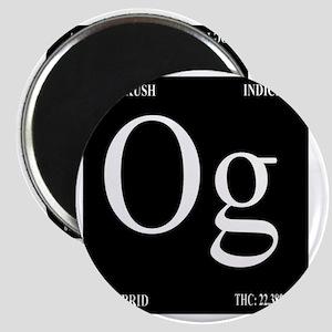 OG Black Design Magnet