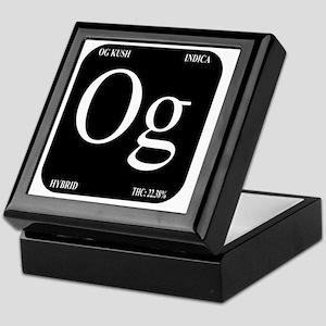 OG Black Design Keepsake Box
