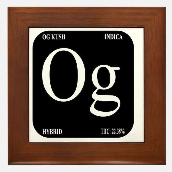 OG Black Design Framed Tile