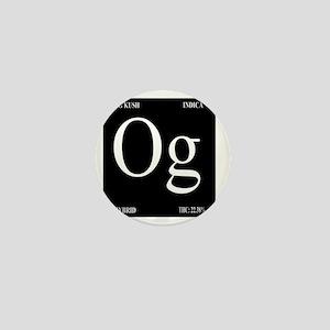 OG Black Design Mini Button