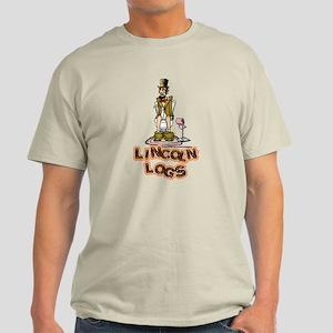 Lincoln Logs Light T-Shirt