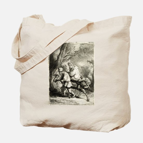 Flight into Egypt - Rembrandt - 1633 Tote Bag