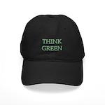 Think Green Black Cap