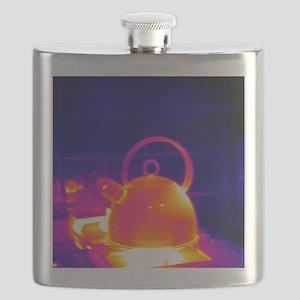 Making tea, thermogram Flask