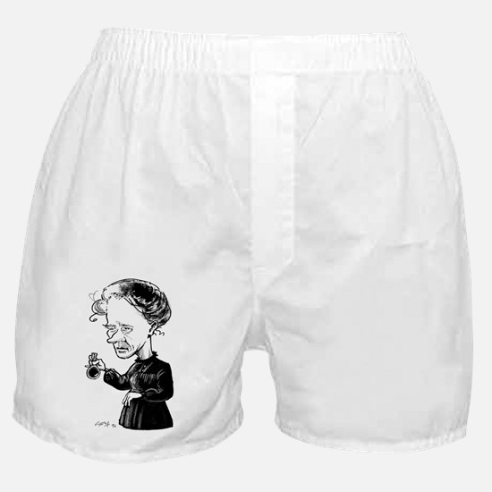 Marie Curie, caricature Boxer Shorts