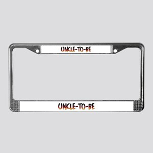 Uncle-To-Be License Plate Frame