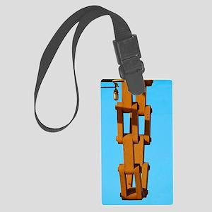 Drawbridge Chain Large Luggage Tag