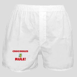 Crocodiles Rule! Boxer Shorts