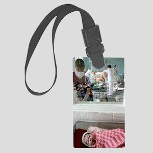 Maternity hospital Large Luggage Tag