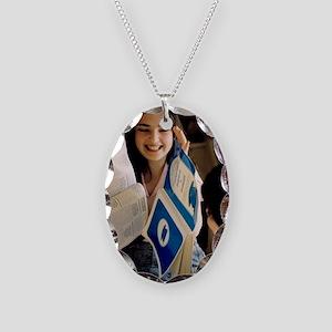 Maiko Ramishvili, magnetic gir Necklace Oval Charm