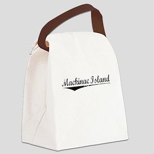 Mackinac Island, Vintage Canvas Lunch Bag