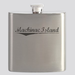 Mackinac Island, Vintage Flask