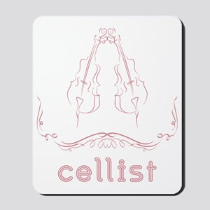 Cellist-06-a Mousepad