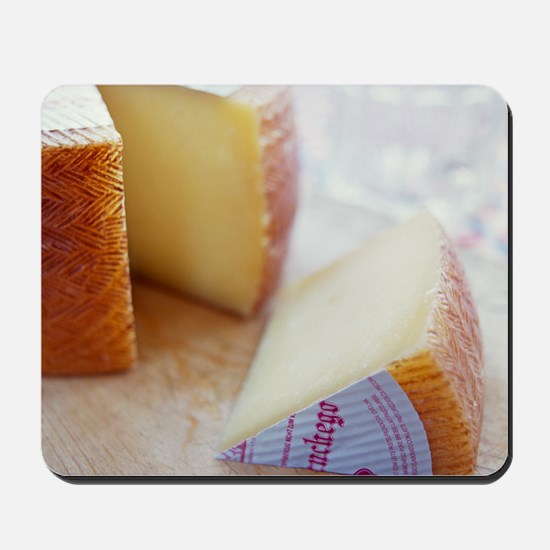 Manchego cheese Mousepad