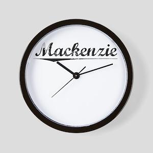 Mackenzie, Vintage Wall Clock