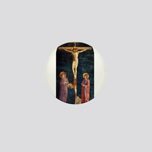 Crucifixion with St Dominic - Fra Angelico Mini Bu