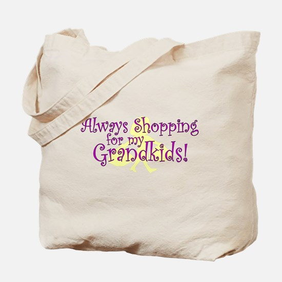 Shopping Grandma Tote Bag
