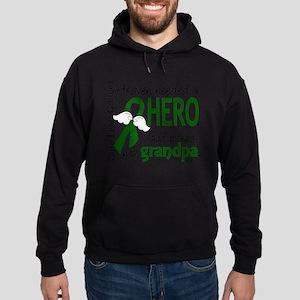Liver Cancer HeavenNeededHero1 Sweatshirt