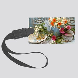 Medicinal plants Large Luggage Tag