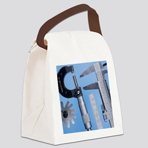 Measuring devices Canvas Lunch Bag