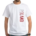 Poland White T-Shirt