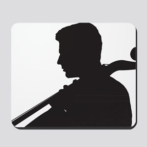Cello-Player-08-a Mousepad