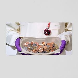 Medical money Aluminum License Plate