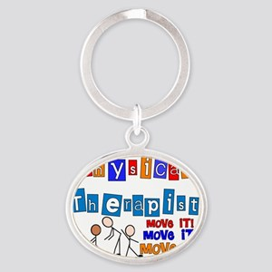PT MOVE IT Oval Keychain